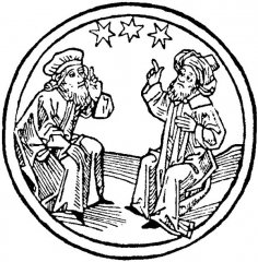 Astrologues discutant