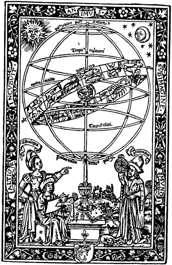 Astrologue et femme